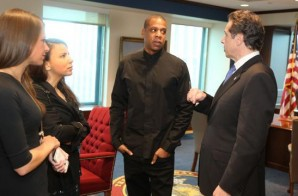 Jay Z, Russell Simmons, & Common Met With New York Governor Andrew Cuomo Seeking Reforms In The Criminal Justice System