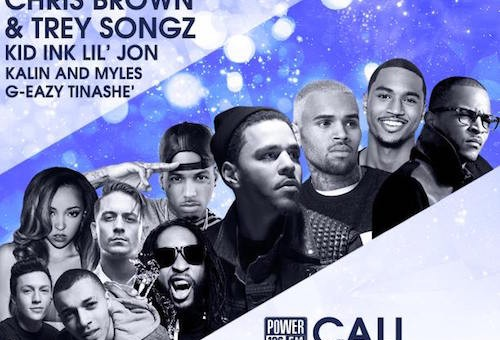 Big Sean, Chris Brown, J. Cole, T.I., & Trey Songz Perform At Power 106 Cali Christmas 2014 (Video)