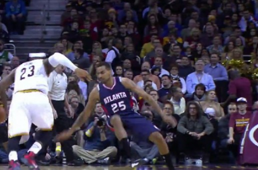 Lebron James Hits Thebo Sefolosha With A Nasty Crossover & Delivers A Sweet Assist (Video)