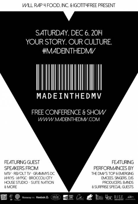 MadeInTheDMV-Clean-Flyer-650x955 EVENT: Made In The DMV - Free Music Conference & Show! (Washington, DC)