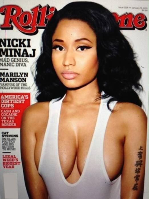NIckixRollingStone Nicki Minaj Covers Rolling Stone January 2015 Issue!