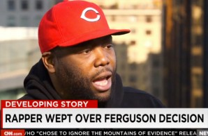 Killer Mike Breaks Down Talking To CNN About The Decision Not To Indict Darren Wilson