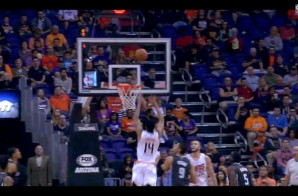 NBA JAM: Gerald Green Tosses Himself An Alley-Oop Off the Glass (Video)