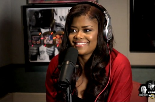 "Karen Civil Visits Hot 97 For ""Ebro In The Morning"" (Video)"