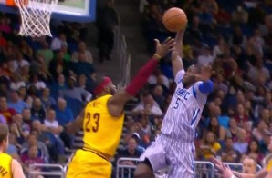 Oladipo Soars Past Lebron's Block Attempt & Posterized Him (Video)