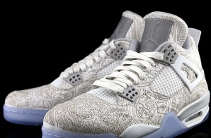 Air Jordan 4 Lasers (Photos)