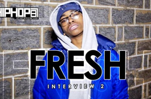 Fresh Talks Debut Mixtape 'Dickhead Music Vol. 1', He Spits A Freestyle & More (Video)