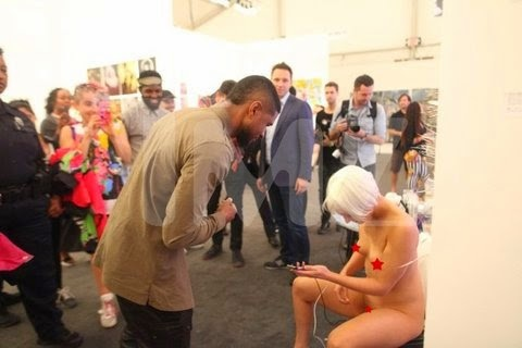 Usher Uses Woman's Vagina As A Power Source At Art Basel 2014