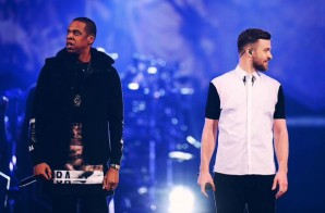 "Justin Timberlake Brings Out Jay Z To Perform ""Holy Grail"" In Brooklyn Last Night (Video)"