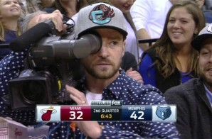 Memphis Grizzles Minority Owner Justin Timberlake Joins Memphis' Camera Crew For The Night (Video)