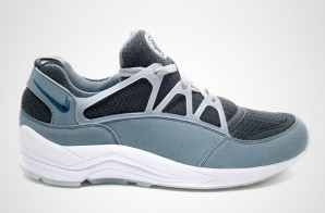 Nike Air Huarache Light (Blue, Grey & White) (Photo)