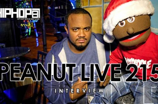 Peanut Live 215 Talks His Recent Hollywood Visit, 2015 Mixtape, Philly Entertainment Scene & more (Video)