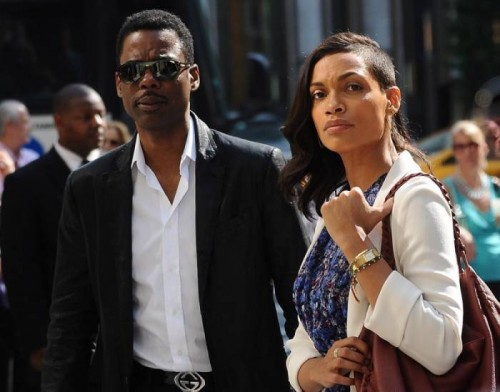 rosario-dawson-chris-rock-new-york-city