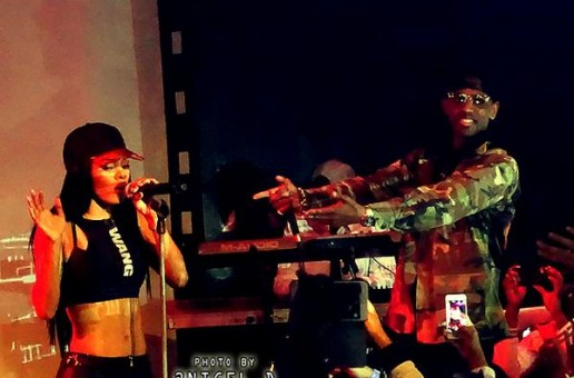 "Teyana Taylor Peforms ""Broken Hearted Girl"" With Fabolous Live at SOB's (Video)"