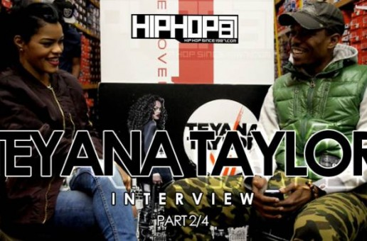 Teyana Taylor Talks Fabolous 90's Themed Birthday Party, G.O.O.D. Music Input & more (Video)
