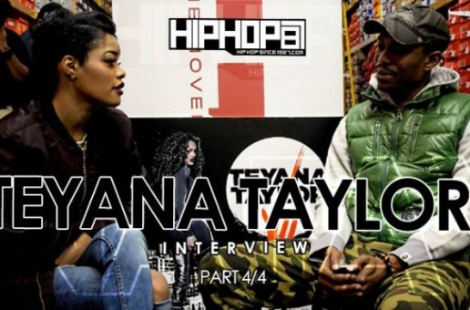 Teyana Taylor Talks Meeting Michael Jordan, Yeezy Adidas Sneaker, Sneakerheads, & More (Video)