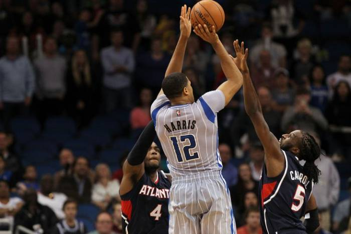 usa-today-8269503.0 Orlando Magic Forward Tobias Harris' Game-Winner Ends The Atlanta Hawks 7 Game Winning Streak (Video)