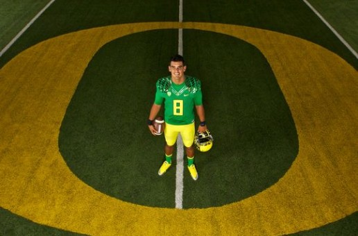 Oregon Ducks QB Marcus Mariota Is Headed To The NFL
