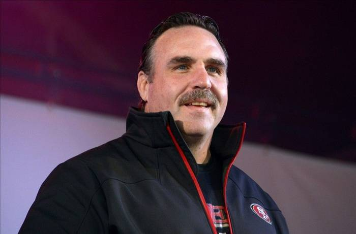 7789422-850x560 Wait Who?: The San Francisco 49ers Promote Defensive Line Coach Jim Tomsula To Head Coach
