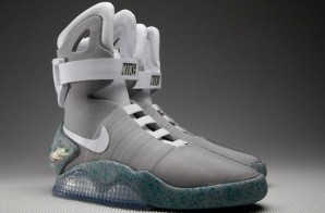 "Back To The Future: The Marty McFly ""Nike Air Mag"" Are Set To Be Released In 2015 Including Power Laces"