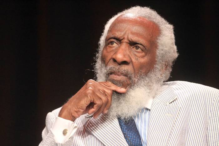 Dick-Gregory-honored-with-a-Hollywood-Walk-of-Fame-Star.-www.blacklikemoi.com_ Comedian & Civil Rights Activist Dick Gregory Is Set To Receive A Star On The Hollywood Walk of Fame