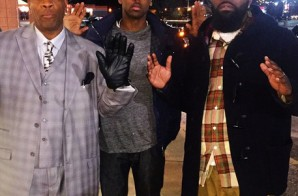 Fabolous Meets Mike Brown's Father In Ferguson