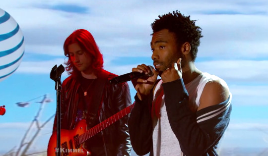 Screen-Shot-2015-01-14-at-2.18.14-PM-1 Childish Gambino - Sober / 3005 (Live On Jimmy Kimmel) (Video)