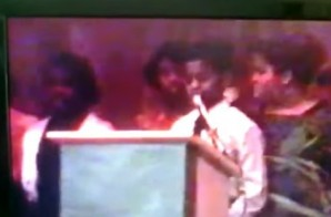 Watch Kanye West Recite a Poem About MLK Jr. In Middle School