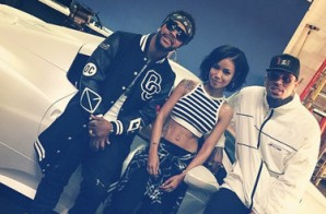 Omarion – Post to Be Ft. Chris Brown & Jhené Aiko (BTS) (Photos)