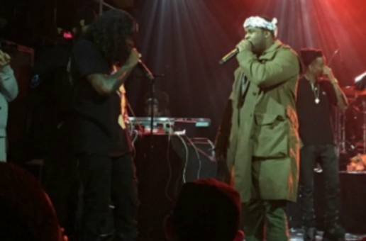 A$AP Ferg Hits The Stage With Wale At Irving Plaza! (Video)