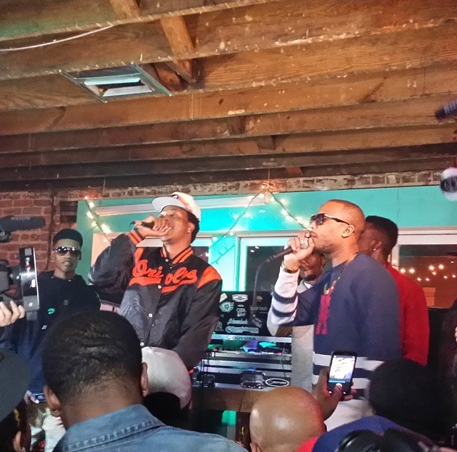 "cover1 B.o.B Hosts Official Scotty ATL ""No Genre"" Label Signing Party In Atlanta (Photos)"