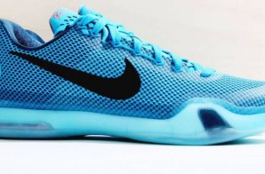 "Nike Kobe X ""Lagoon Blue"" (Photos)"