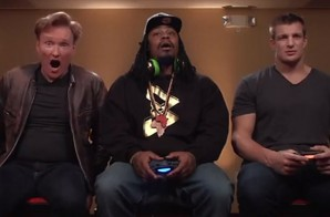 Friend Or Foe: Marshawn Lynch & Rob Gronkowski Play Mortal Kombat X With Conan (Video)