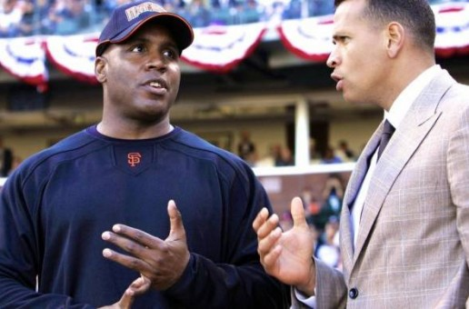 Birds Of A Feather: Alex Rodriguez Working Out With Barry Bonds