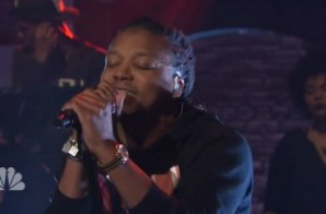 Lupe Fiasco – Deliver (Live On Late Night w/ Seth Meyers) (Video)