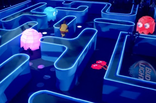 Bud Light Brings PacMan To Life In Their #UpForWhatever Super Bowl XLIX Commercial (Video)