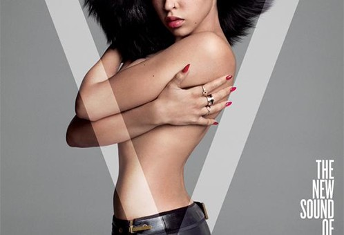Tinashe Heats Up The Cover Of V Magazine