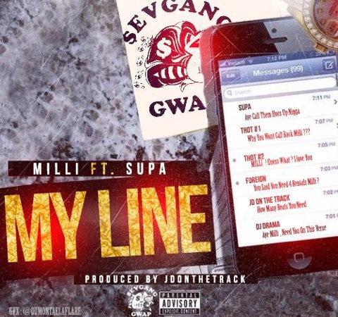 unnamed-121 Milli x Supa - My Line (Prod. By JD & Swag)