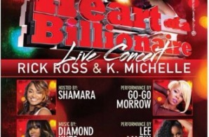 "Rick Ross & K. Michelle ""Heart of A Billionaire Concert"" Live At The SunCenter In Trenton, NJ. (Feb. 14th)"