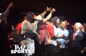 "New England Patriots Owner Robert Kraft & Rick Ross Bust A Move To Meek Mill's ""Ima Boss"" (Video)"