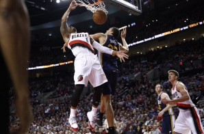 He's On Fire: Portland Trailblazers Guard Damian Lillard Posterized Utah Jazz Center Rudy Gobert (Video)