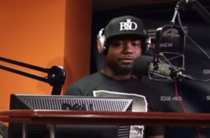 Nino Man Speaks On Working With Jadakiss & Freestyles For Sway In The Morning (Video)