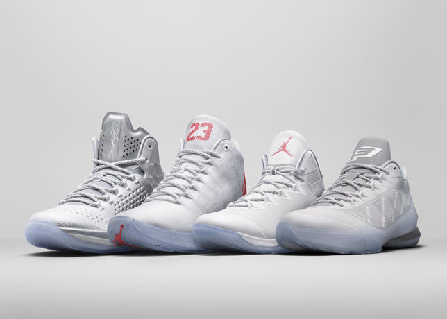 Pearl_M11_XX9_SF3_CP_Group_large Jordan Brand Reveals Player Exclusive Footwear For Their Jordan Brand 2015 NBA All-Stars (Photos)