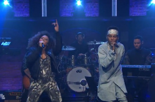"Elle Varner Joins Kid Ink On ""Late Night With Seth Meyers"" To Perform ""Body Language"" (Video)"