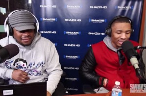 Portland Trailblazers Star Damien Lillard Kicks A Freestyle On The Sway In The Morning Show (Video)