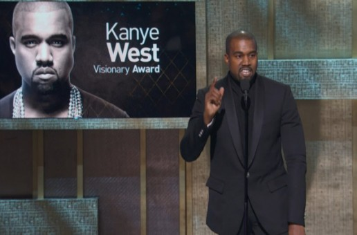 Dame Dash Presents Kanye West With Visionary Award At BET Honors 2015! (Video)