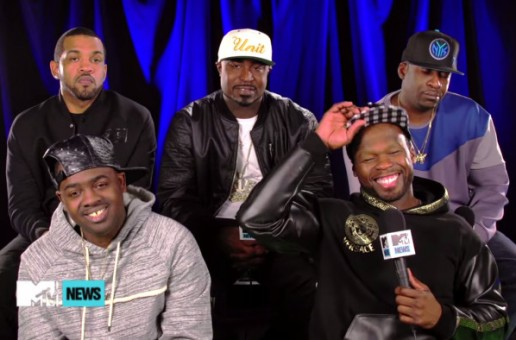 "50 Cent Compares ""Empire"" To ""Glee"" On MTV News! (Video)"