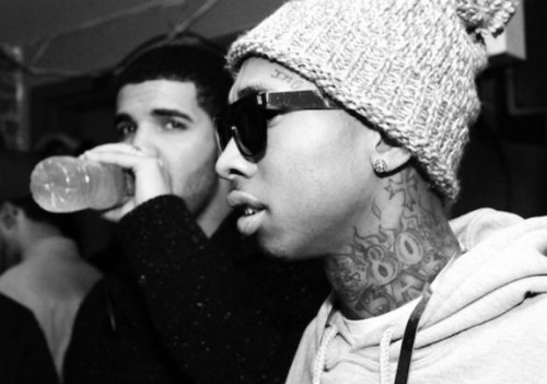 Tyga-Calls_Drake_A_Bitch-500x351 Tyga Calls Drake A Bitch On Twitter For 'Sneak Dissing'