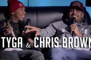 Chris Brown & Tyga Talk YMCMB, Drake, Amber Rose, Kylie Jenner, & More On Hot 97 (Video)
