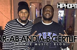 "AR-AB & A.B. Certlife ""Savage Niggas"" Blog (Video)"